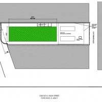 Plans for the flagship Starbucks at 1003 North Rush Street
