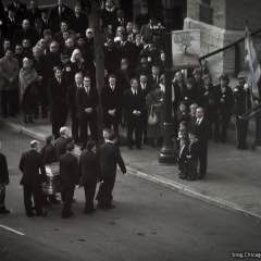 Scenes From Maggie Daley's Funeral