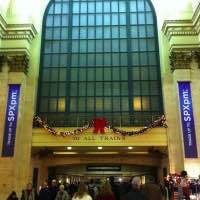 Christmas decorations at Union Station