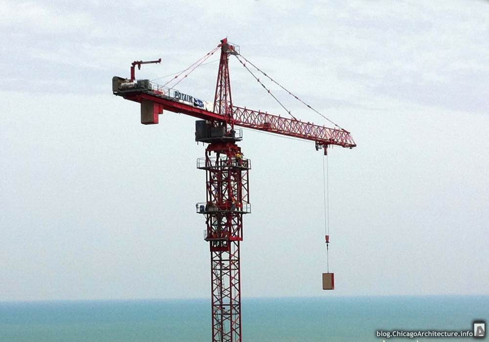 Tower crane at The Coast