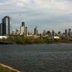 Slice of Life: Skyline and Water