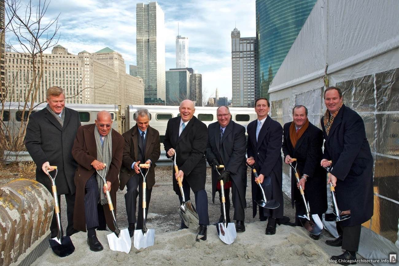 River Point groundbreaking