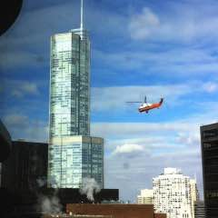 Another Helicopter Lift in The Loop [Video]