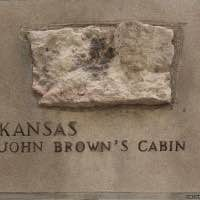 Tribune Tower rock - John Browns Cabin - Osawatomie - Kansas