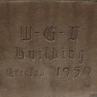 Tribune Tower rock - WGN Building cornerstone - Chicago