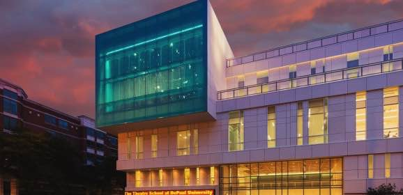 DePaul's New Theater Wins Gold