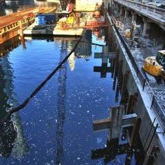 Status Update: Chicago Riverwalk Construction