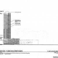 Diagram of proposed McHugh hotel and data center