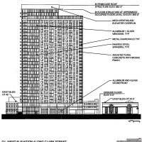 Diagram of 833 North Clark
