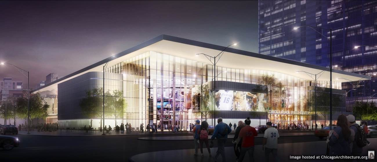 McCormick Place Events Center drawing