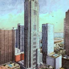 Streeterville CitizensTake New Skyscraper Scheme In Stride, But Fret About Park and Parking