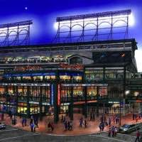 Wrigley Field expansion rendering, courtesy of the Chicago Cubs