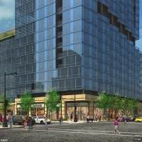 Rendering of 410 East Grand, courtesy of SCB