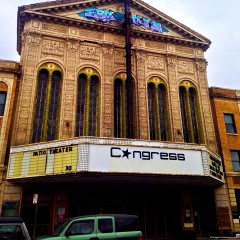 A Last Look at the Congress Theater Before its Rebirth