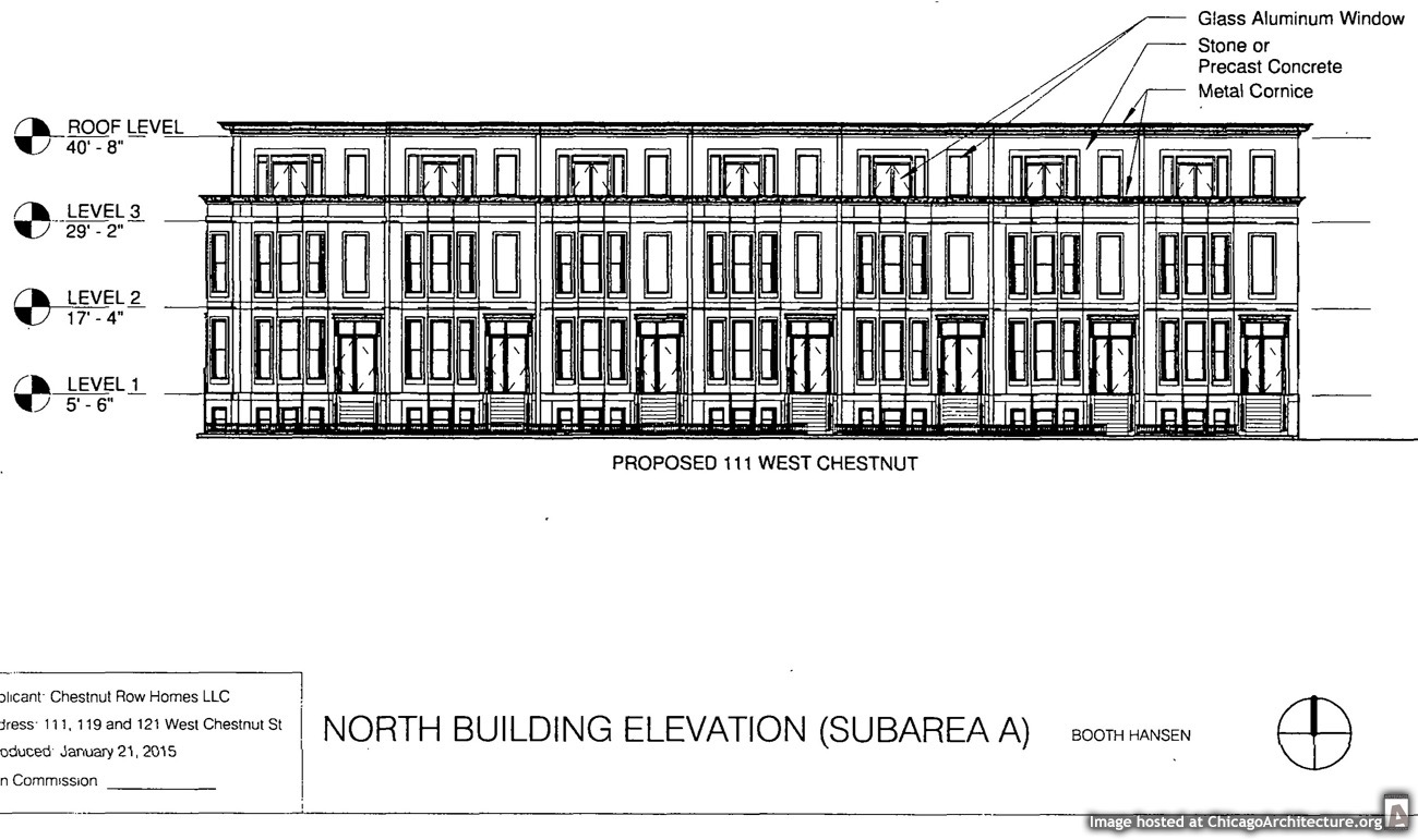 Drawing of 111 West Chestnut