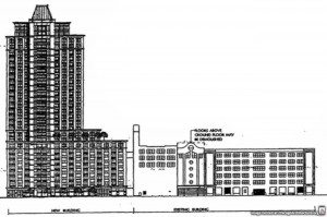 Drawing of 1035 West Van Buren