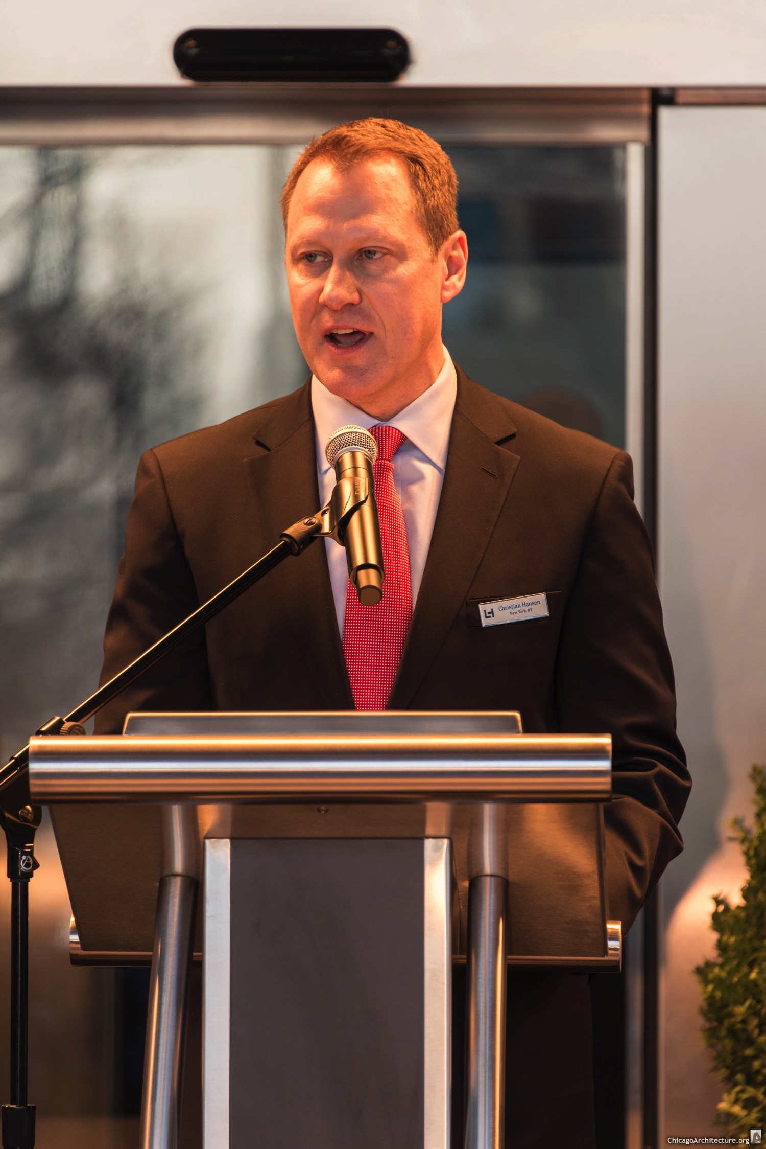 Christian Hansen, General Manger, Loews Chicago Hotel