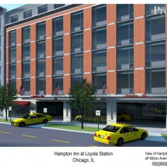 Full Steam Ahead for the Hampton Inn at Loyola Station