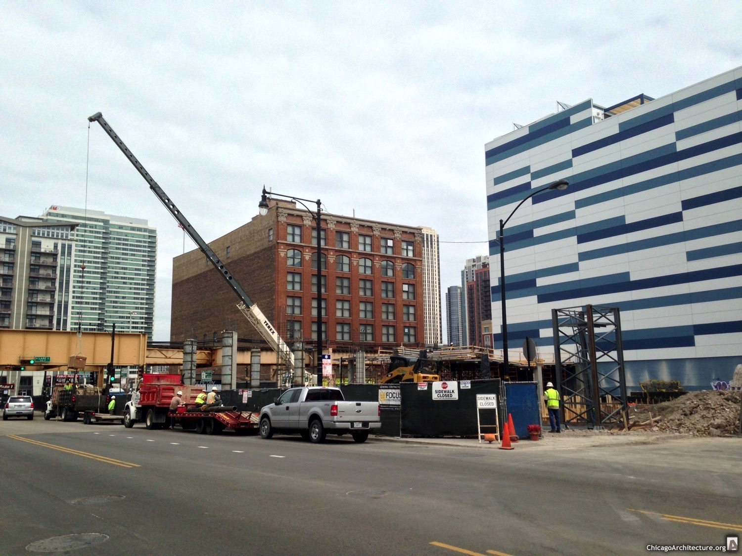 171 North Halsted under construction