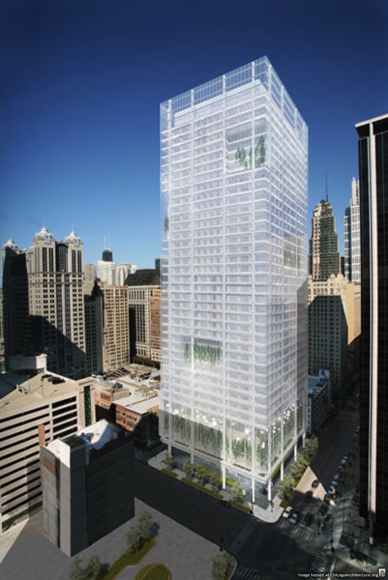 Tower b courtesy of grec architects chicago architecture for Architecture grec
