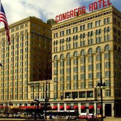 Congress Hotel Tries to Even Out Again; OCD Architects Rejoice