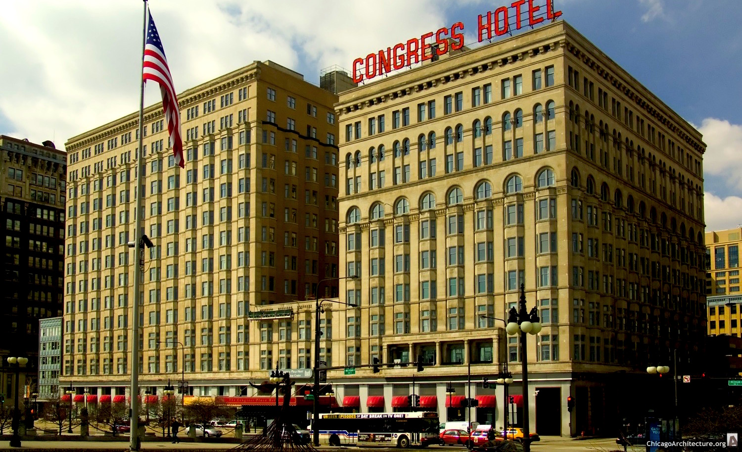 Congress Hotel Tries to Even Out Again; OCD Architects Rejoice ...