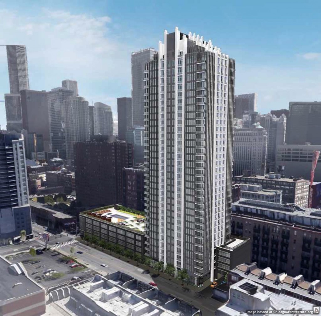 Rendering of 353 West Grand