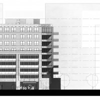 Diagram of 111 South Peoria