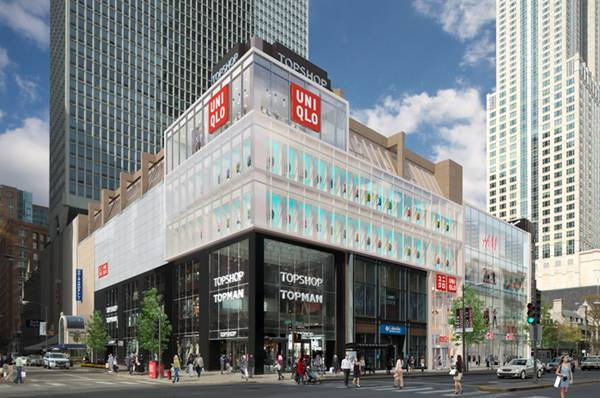 Uniqlo rendering