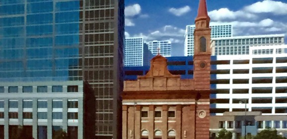 """Buck's New River North Skyscraper Turns A Church Parking Lot Up To """"Eleven"""""""
