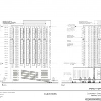 Diagram of 460 West Chicago Avenue (Courtesy of VOA Associates)