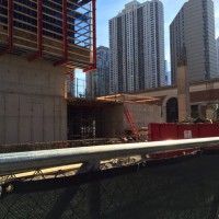 833 North Clark under construction