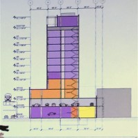 Diagram of 832 West Lake Street