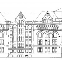 Diagram of the Illinois Institute of Technology Main Building