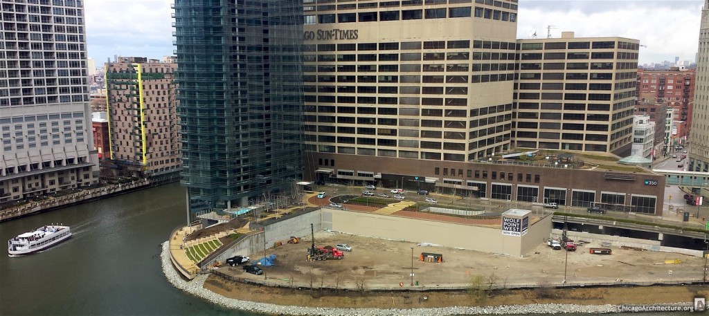 Wolf Point South pre-construction