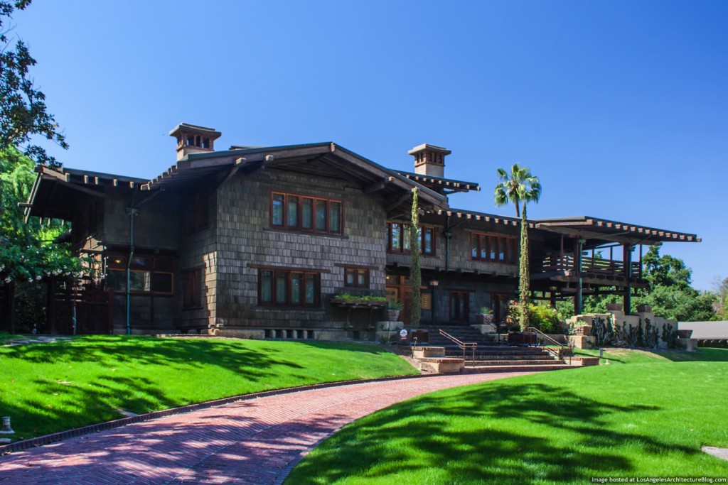 The Gamble House in Pasadena, California