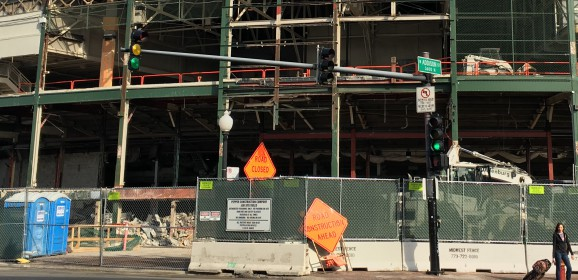 Amid Clutter of Construction, Wrigley Field Preps for Opener