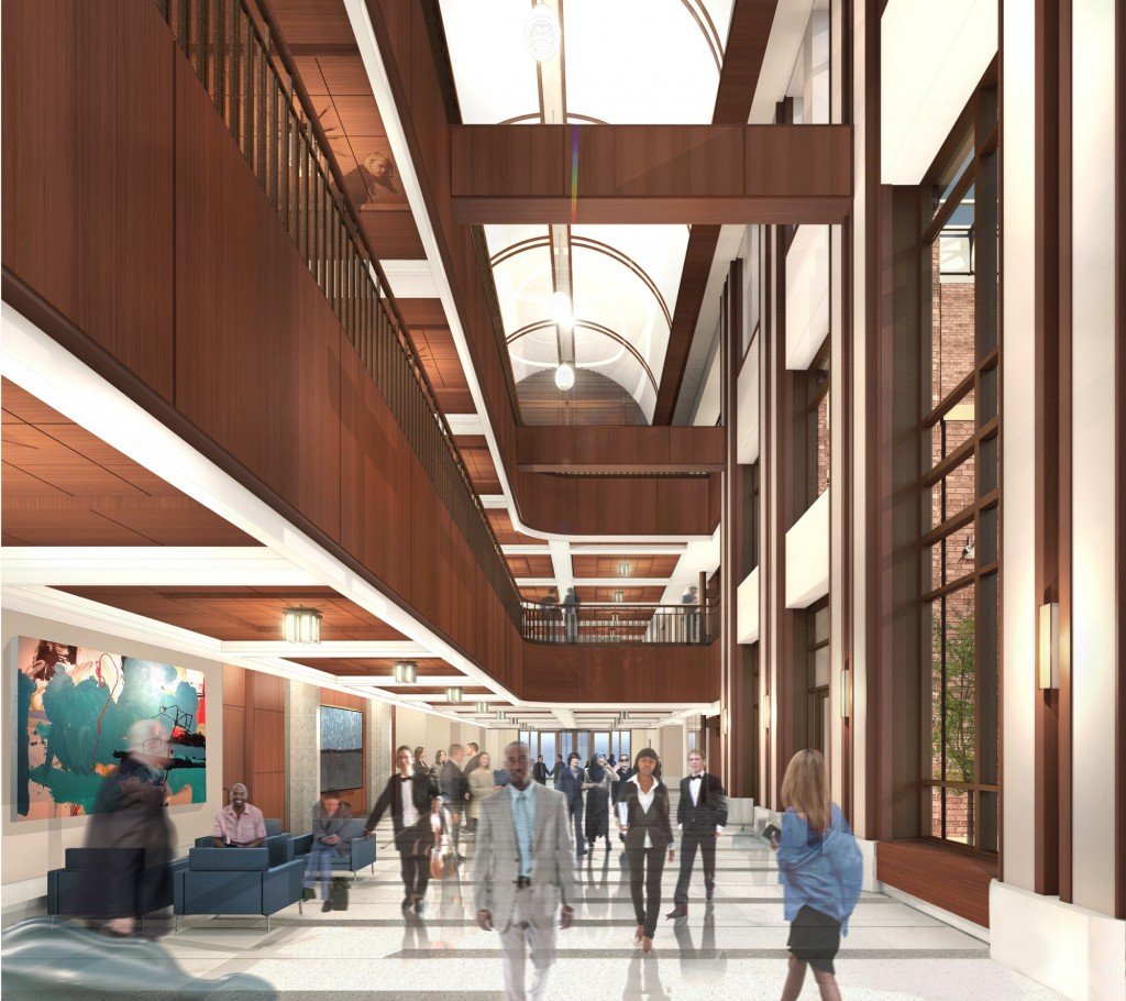 Rendering of the DePaul School of Music (Courtesy of Antunovich Associates)