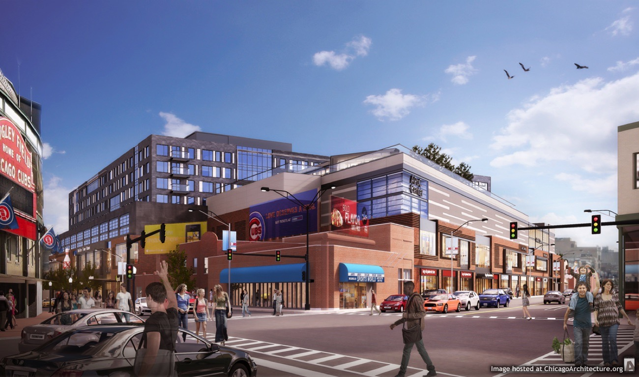 Rendering of Addison & Clark (Courtesy of M&R Development)