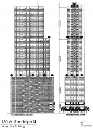 Diagram of 178 West Randolph Street