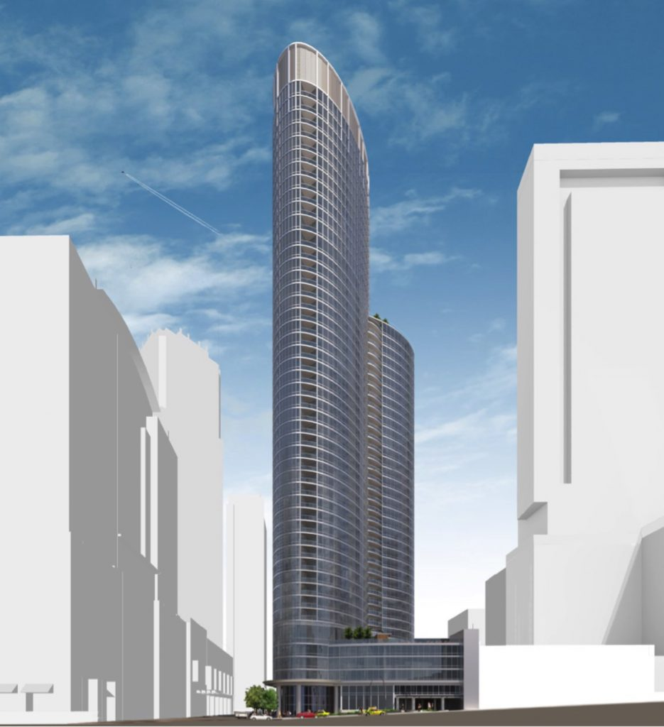Rendering of 465 North Park (Courtesy of MetLife)