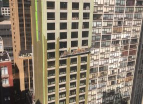 New Streeterville Hotel Goes Green… Not That Kind of Green!
