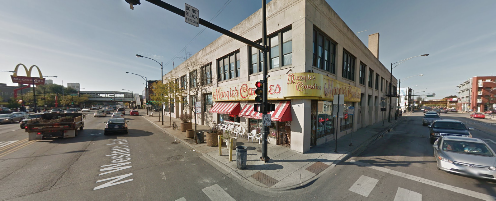 Margie's Candies at 1960 North Western Avenue (Image via Google Streetview)