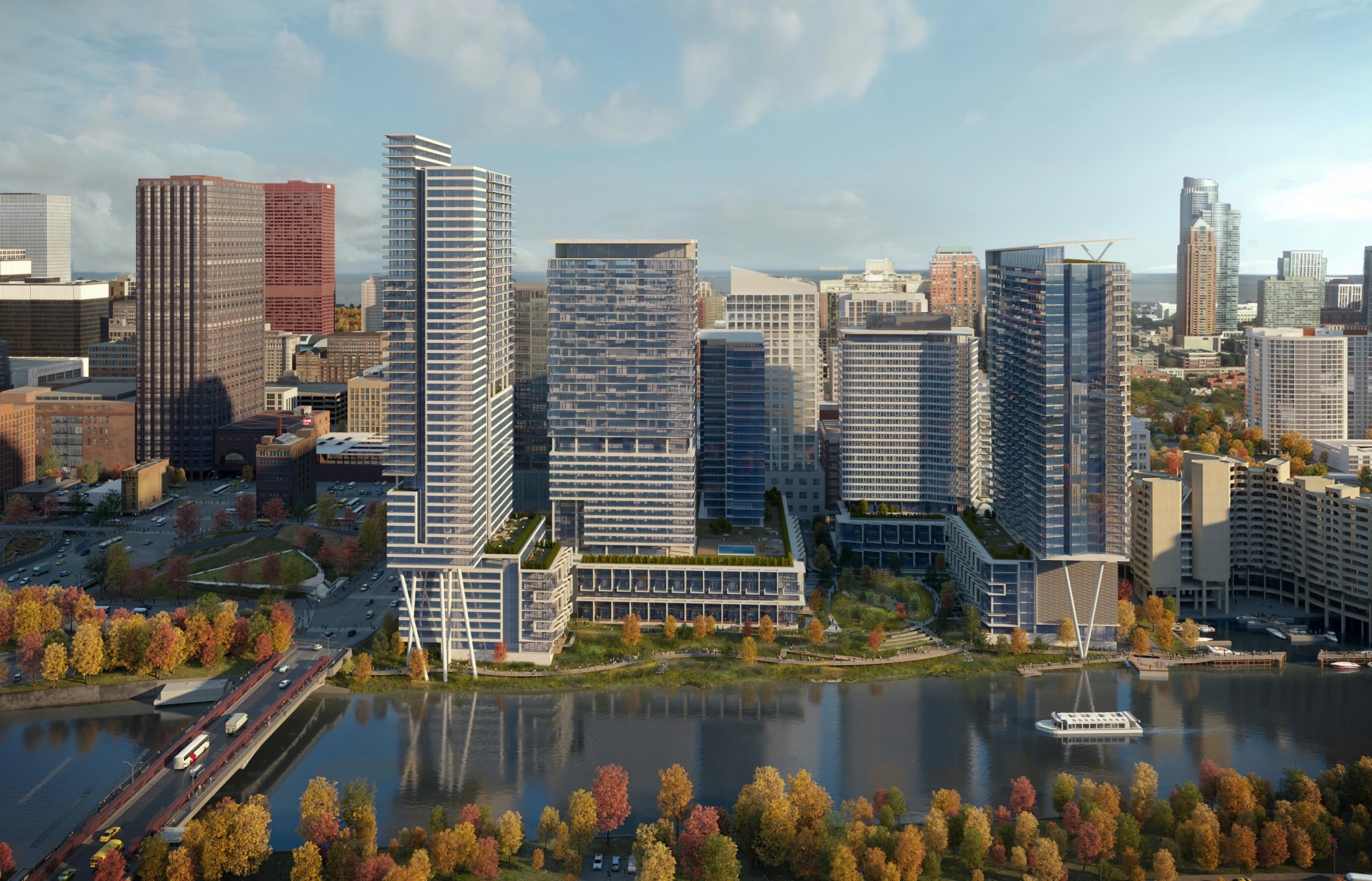 Rendering of Riverline (Courtesy of Perkins+Will)