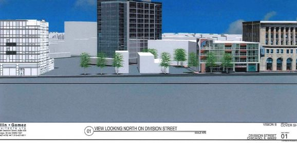 16-Story Addition Proposed for Wicker Park Low-Rise at Milwaukee and Division