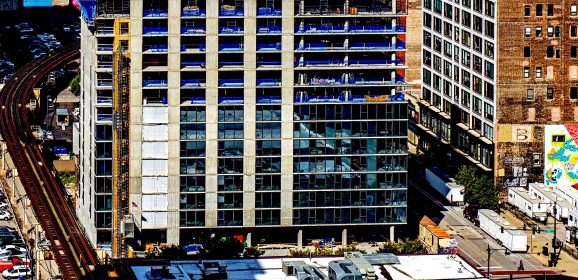South Loop's Latest Student Housing Block Tops Out