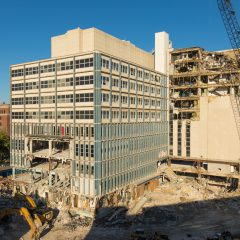 Old Children's Hospital Nearly Gone