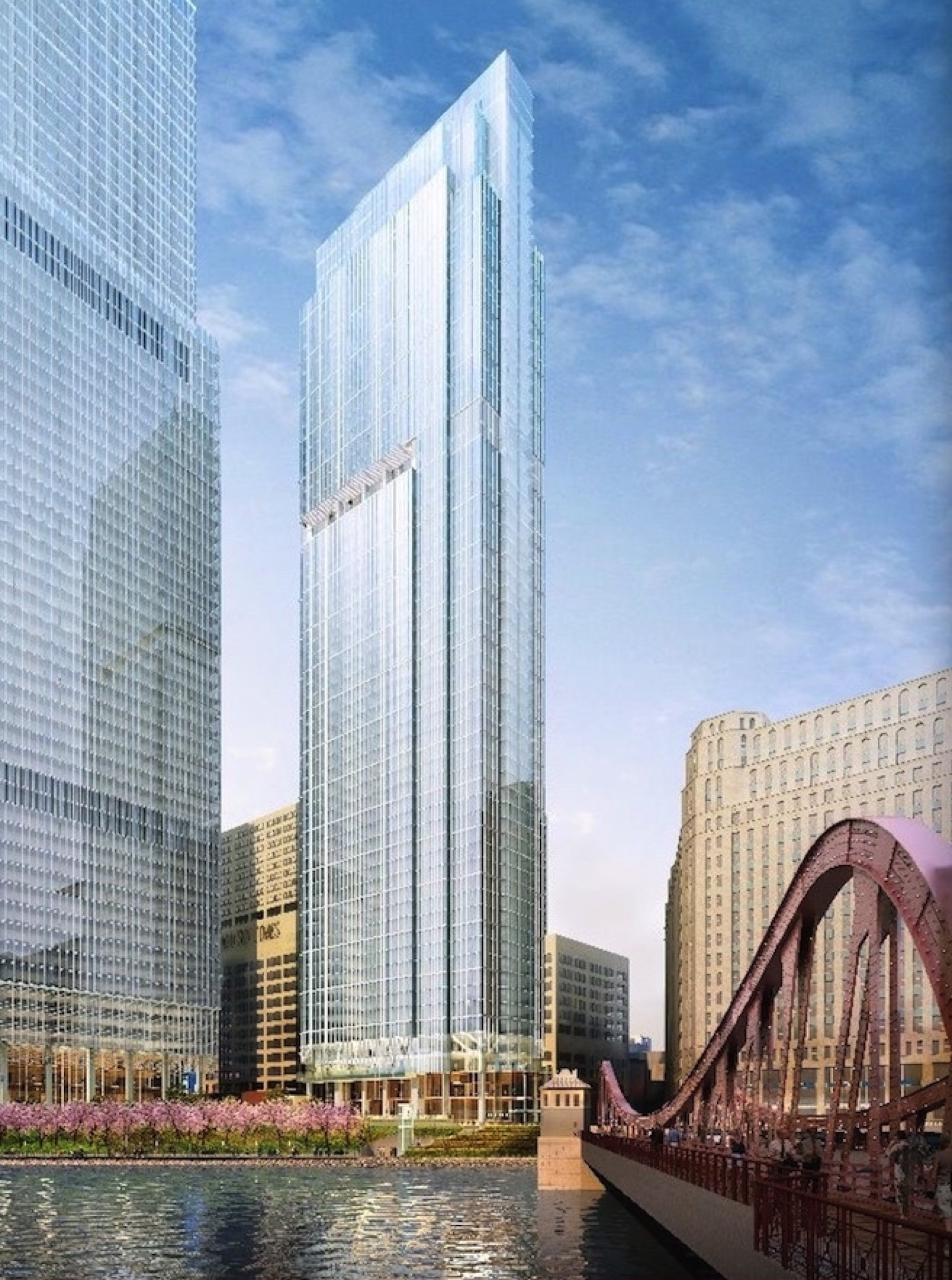 Rendering of Wolf Point East