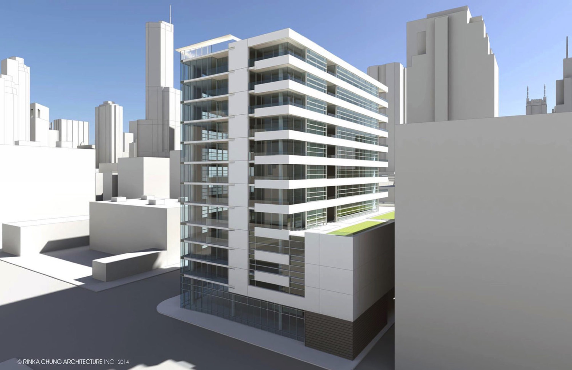 Rendering of The Blanc Chicago