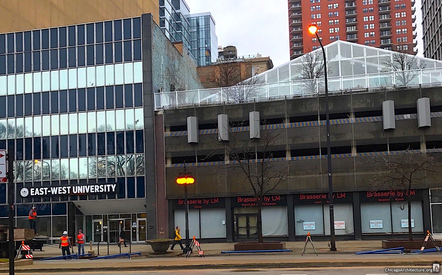 Essex on the Park pre-construction (Courtesy of Loop Spy Drew)